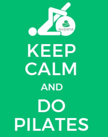 pilates, keep calm, avaana